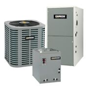 Oxbox - 2 Ton Cooling - 72k Btu/hr Heating - Air Conditioner + Single Speed F...