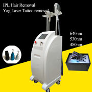Laser Ipl Permanent Hair Removal Yag Laser Tattoo Removal Spa Use Beauty Machine