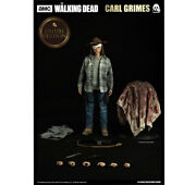 3a Threezerothe Walking Deadcarl Grimes Limited Edition H12inch Action Figures