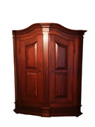 Antique Cabinet Made Of Solid Mahogany Wood
