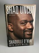 Shaquille Oand039neal Signed Book Andldquoshaq Uncut Auto W Bande Hologram