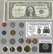 Silver Dollar Barber Mercury Liberty Indian Rare Us Coin Collection Lot Gold 216