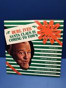 Burl Ives- Santa Claus Is Coming To Town Nm Mca-15030 Limited Release1987 Vinyl