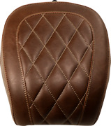 Wide Tripper Solo Seat Brown Diamond Rear - Pillion Pad 83033