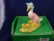 Beswick Beatrix Potter Jemima And Her Ducklings Bp8a Ultra Rare