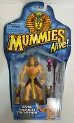 Mummies Alive Evil Shabti Trooper With Javelin Missile- Toy Figures And Playsets