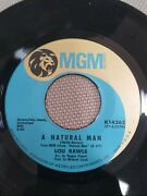 Lou Rawls Believe In Me / A Natural Man - 7 Vinyl 45 Mgm Records