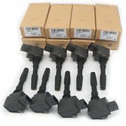 8x Ignition Coils 079905110n Fit For Audi A6 A7 A8 Bentley Continental Gt 4.0t