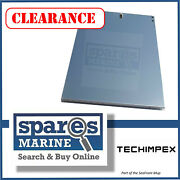Techimpex Side Panel 1 34cm X 44.5cm Stainless Steel - Tpx-panel-02
