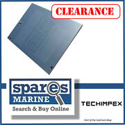 Techimpex Side Panel 2 34cm X 44.5cm Stainless Steel - Tpx-panel-03
