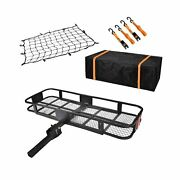 Usserenay Hitch Cargo Carrier - Trailer Hitch Luggage Rack With Net Waterpro...