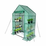 Greenhouse,indoor And Outdoor Greenhouse,window And Anchors Include,grow Plan...