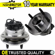 Pair Front Wheel Bearing And Hub For 2005 -2010 Chevy Malibu Pontiac G6 Aura W/abs