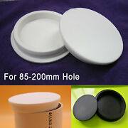 Silicone Rubber Blanking End Caps Pipe Tube Inserts Plug Bung For 85-200mm Hole