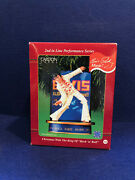 Carlton Cards 2001 Elvis Christmas With The King Of Rock N Roll Musical Ornament