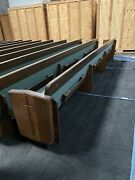 Church Pew Beches 15.6 Ft Long