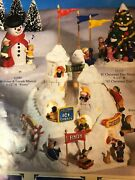 Lefton Colonial Village Kringleand039s Snow Castle 12129 - Used - Local Pickup Only