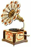 Wooden Phonograph Music Box 3d Wooden Puzzle Toy Creative Assembling Model
