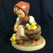 Rare Early Hummel 57/0 Chick Girl Tmk2 Incised Bee - Excellent