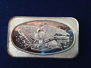 1981 American Pacific Mint Our Rights And Liberties Apm-12 Silver Art Bar P2144