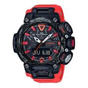 Authentic Gshock Gravitymaster Watch Quadsensor Bluetooth Carboncore Compass Red