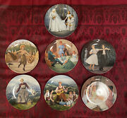 The Sound Of Music Lot Of 7 Collector Plates
