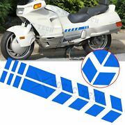 Motorcycle Motocross Fender Stickers Racing Sport Arrow Stripes Decal Reflective