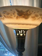 Antique 1920s Torcherie Lamp From Mutual Sunset Lighting Company