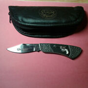 Franklin Mint Collectable Knife Colt 1877 Double-action Lighting With Case