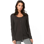 Fox Womenand039s Haines Ls Thermal Top Black Vintage