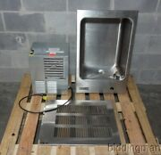 Elkay Efrc8c Water Cooler Drinking Fountain Fully-recessed W/ Ech8 Chiller 8 Gph