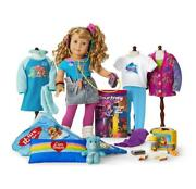 American Girl Courtney Ultimate Collection, Doll, Pac Man, Care Bear, New