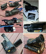 Lot Of 10- Sony Camcorders - 8mm As-is Parts- Ccd-f201 F301 X310 Fx310 Tr5 Fx510