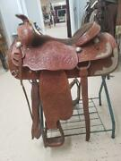 15.5 Used Rioand039s Brother Western Show Saddle 332-1749