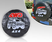 New Universal 27 Spare Wheel Tire Tyre Cover Soft Protector Case 4wd Wh