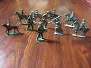 Lot Of Vintage/antique Lead Soldiers And Horses And Other Lead Figures. 2andrdquo