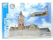 Ho 1/87 Walthers 933-2943 Milwaukee-station And Train Shed Building Kit Sealed
