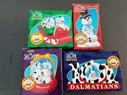 Set Of 4 101 Dalmations Ornaments From Mcdonalds 1996 New In Box