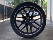 4x New Mercedes 22 Gle Gle43 Coupe Rims New Tyres Fits Ml63 Gl Ml Series Amg