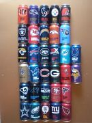 Bud Light Nfl Kickoff Empty Beer Cans Choice 2015 2016 2018 New Cans Added 10/21