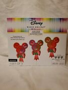 Disney Magic Holiday Mickey Mouse Led Pathway Lights New
