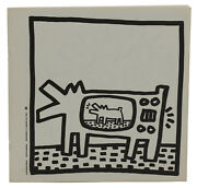 Coloring Book Keith Haring First Edition 1st Printing 1982