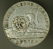 Sierra Leone Silver 20 Cents 1791 Xf Cleaned A1883