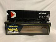 ✅weaver Cp Rail Ps-2cd Covered Hopper Car W/ Lionel Couplers Central Discharge
