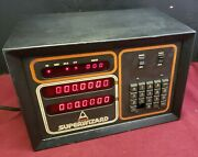 Parts Only Anilam Superwizard 2-axis Dro Digital Readout 116-2 115v Acid Damage