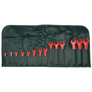 Wiha Tools 20190 Ins Open End Wrench Set5/16-1-1/814 Pc