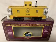 ✅mth Premier Baltimore And Ohio N6b Wood Caboose W/ Operating Signal Man 20-91224