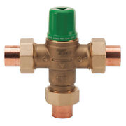 Taco 5002-c3 Mixing Valve, Forged Brass, 1 To 20 Gpm