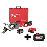 Milwaukee 2874-22hd 48-11-1812 Pipe Threading And Cutting Machines 1/8 In To
