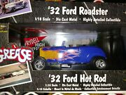American Muscle Grease 118 Scale Diecast Model 4 Car Lot And03932 Fordand039s Chevy Plus